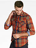 WESTERN DOUBLE WEAVE SHIRT,