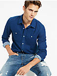 INDIGO DOUBLE WEAVE WORKWEAR, INDIGO
