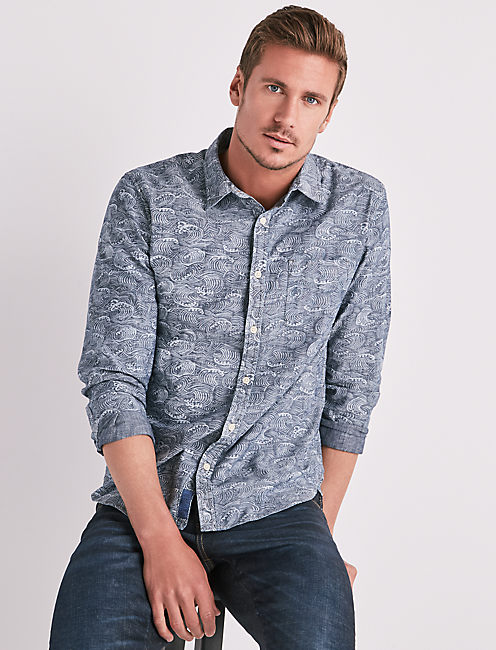 PACIFIC WAVE ONE POCKET SHIRT,