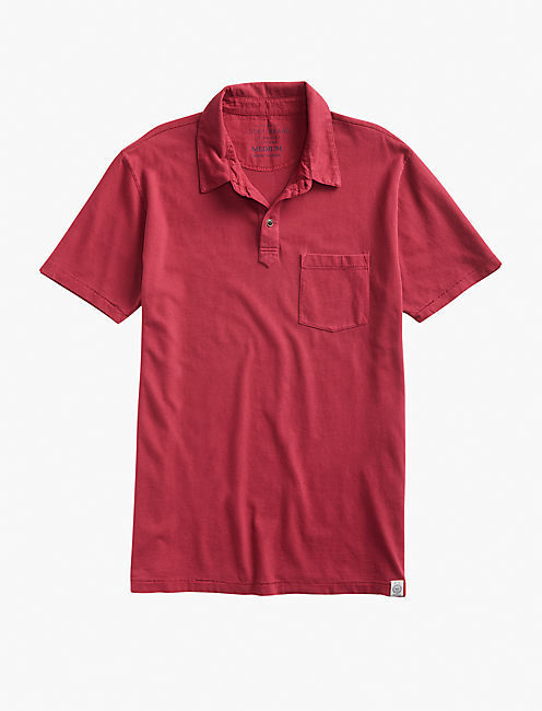 SS 1 PKT POLO, RUMBA RED