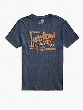 S/S LUCKY BRAND TIGER