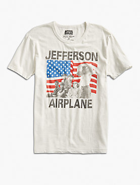 JEFFERSON AIRPLANE FLAG TEE