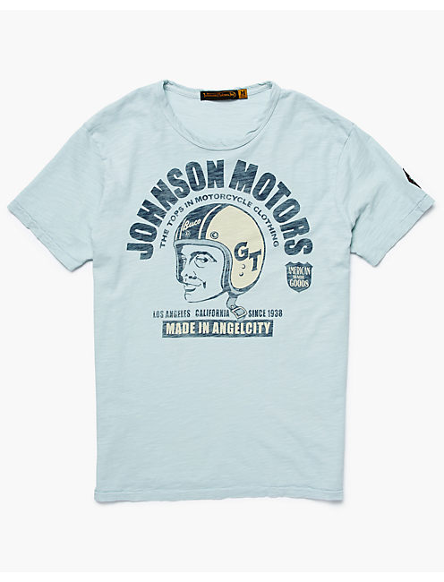 JOHNSON MOTORS ANGEL CITY, FADED DENIM