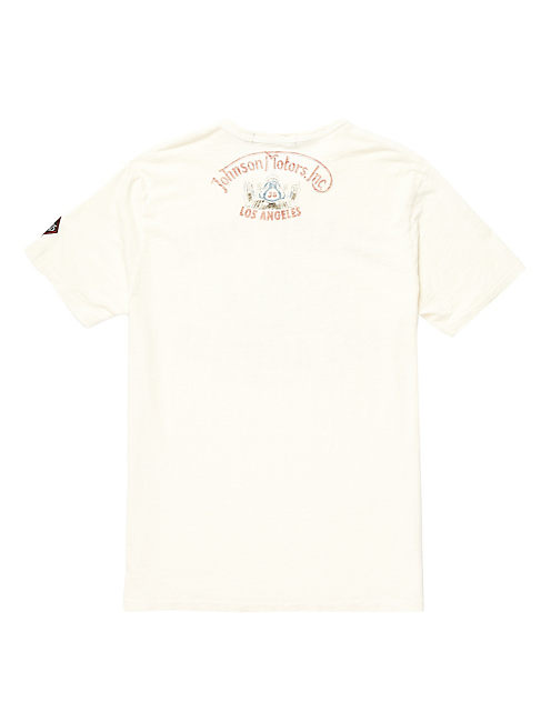 LA GRAND PRIX TEE, DIRTY WHITE