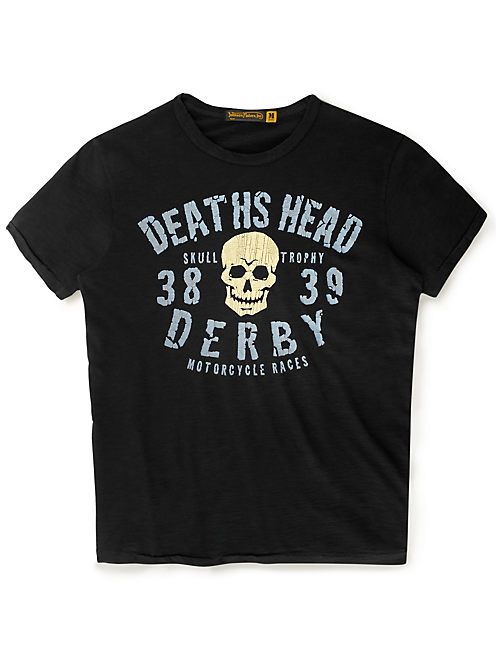 DEATHS HEAD DERBY, #001 BLACK
