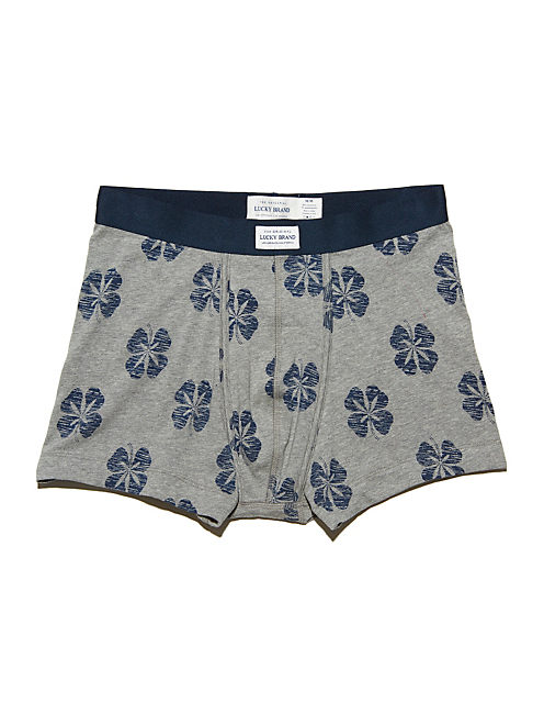 POT LUCKBOXER BRIEF, HEATHER GREY/NAVY