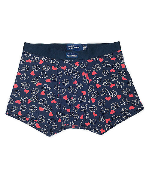 SWEETHEARTS BOXER BRIEF, NAVY/WHITE/RED