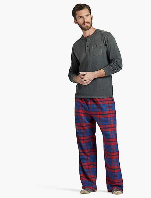 LUCKY ESTATE BLUE PLAID PANT