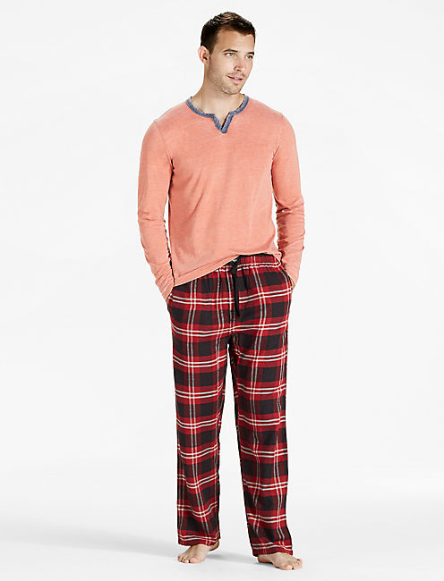 Lucky Plaid Cotton Viscose Pant