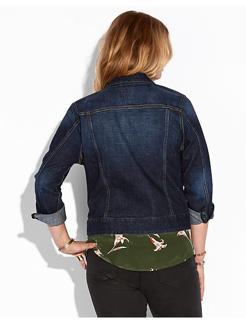 SABRINA DENIM JACKET, BOETY