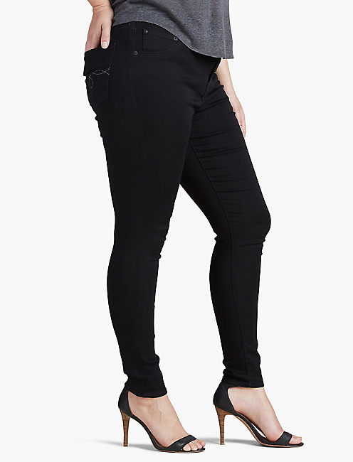 PLUS SIZE EMMA SUPER SKINNY JEAN IN BELL, BELL