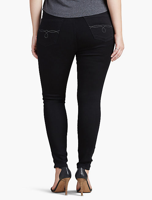 PLUS SIZE EMMA SUPER SKINNY JEAN IN BELL,