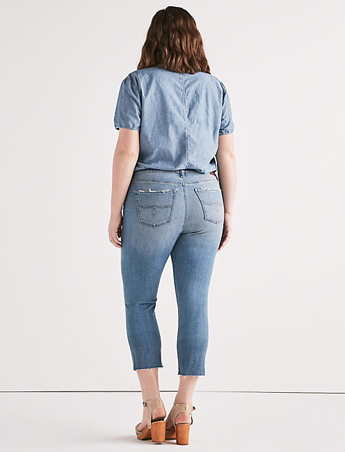 EMMA HIGH RISE CROP JEAN IN CITRUS VALLEY, CITRUS VALLEY-P