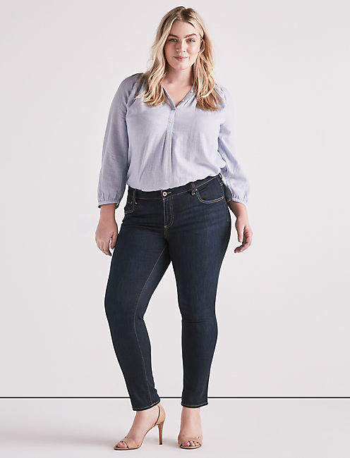 Lucky Plus Size Ginger Skinny Jean In El Monte