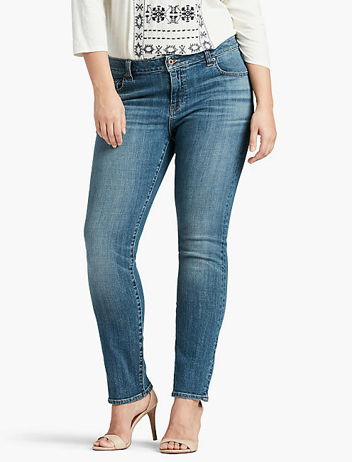 PLUS SIZE GINGER STRAIGHT LEG JEAN IN MORRISON, MORRISON