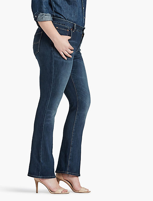 PLUS SIZE EMMA BOOTCUT JEAN IN GREAT FALLS,