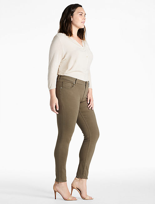 Lucky Plus Size Ginger Skinny Jean In Pine Hill