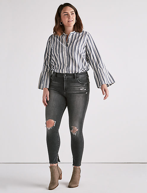 Lucky Plus Size Emma Legging Jean In Lyon