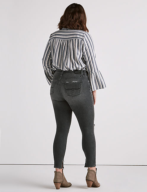 PLUS SIZE EMMA LEGGING JEAN IN LYON, LYON-P