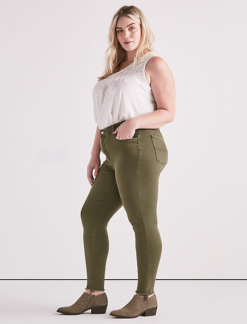 Lucky Plus Size Emma Legging Jean In Opal