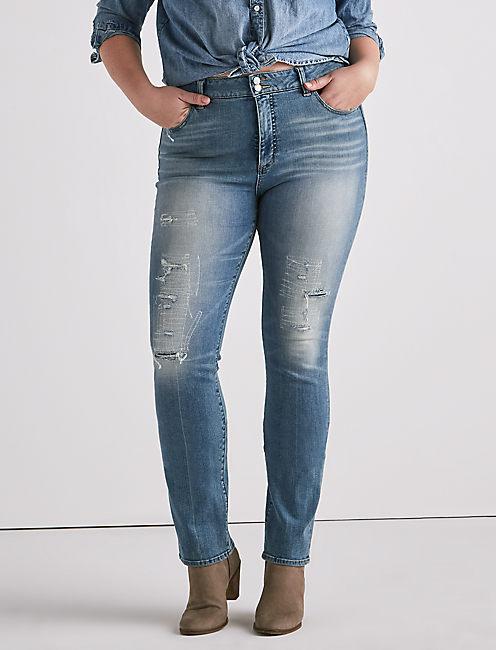 0f94383522a Plus Emma Straight Jean