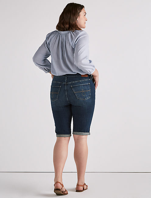PLUS SIZE GINGER BERMUDA SHORT IN MARANA,