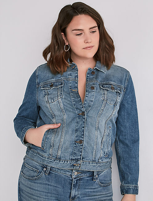 d521956fd60 ... VERVE PLUS SIZE CLASSIC DENIM JACKET IN VERVE