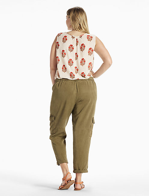 SOLID CARGO PANT,