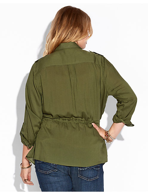 MILITARY JACKET, #3894 BRONZE GREEN