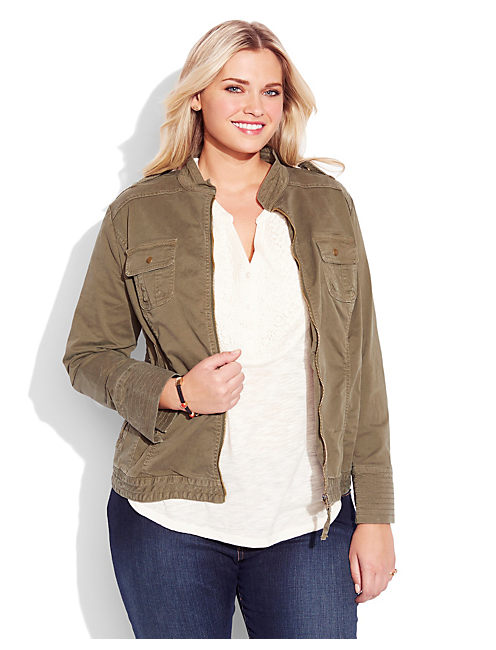 MILITARY FIELD JACKET, FIELD GREEN