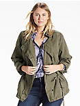 ASYMMETRICAL MILTARY JACKET,