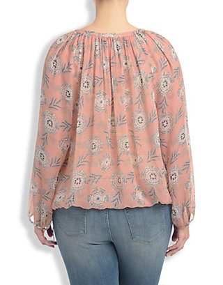 LUCKY RIVIERA FLORAL PEASANT