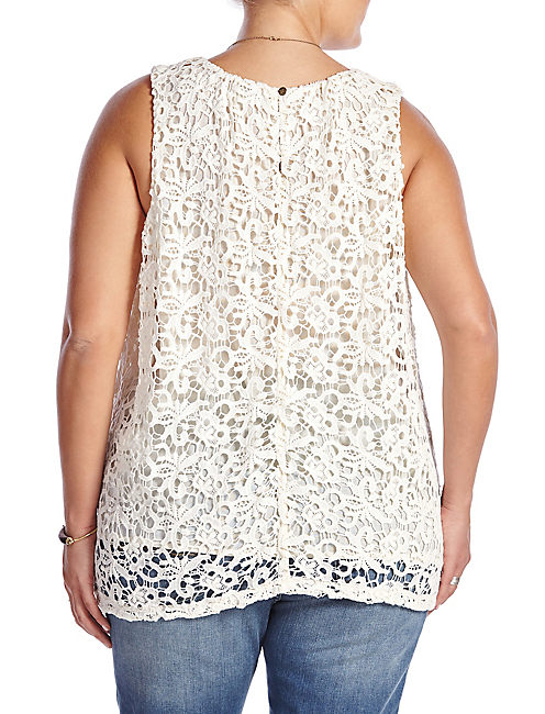 LUCKY LACE TANK