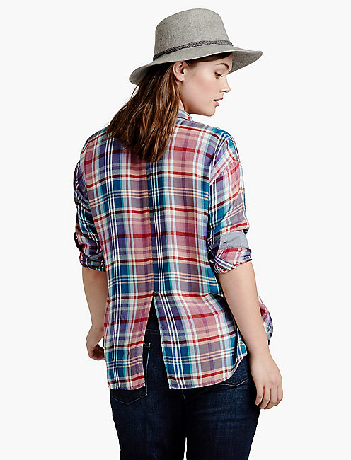 boyfriend plaid,