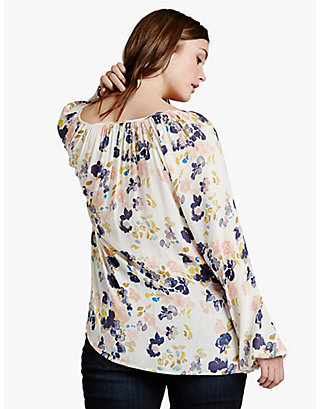 LUCKY SOFT FLORAL TOP