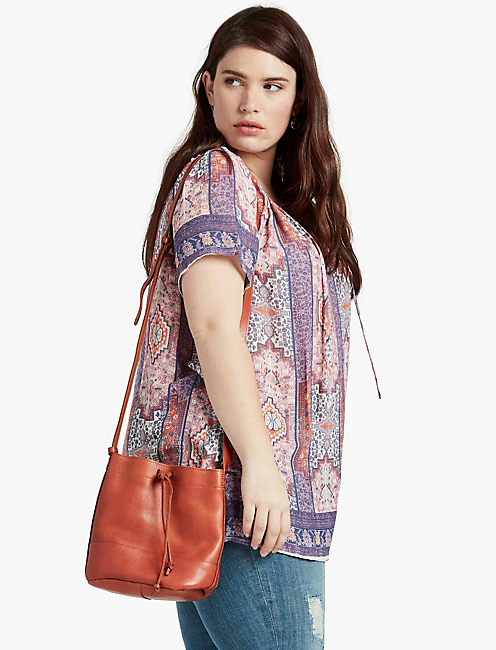 TAPESTRY PRINT  BLOUSE,