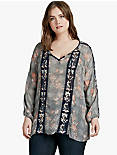 FLORAL EMBROIDERED TOP,