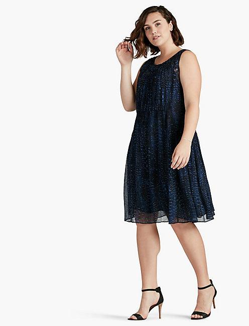 LUCKY GEO PRINT DRESS