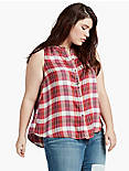 RAYON PLAID SHIRT,