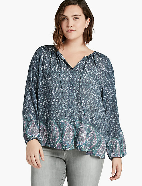 plus size v neck tops | lucky brand