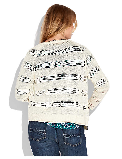 CAMINE CARDIGAN, NATURAL MULTI