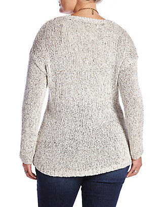 LUCKY MARLED SWEATER TUNIC