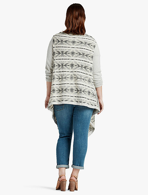 LUCKY SOFT FAIR DRAPEY SWEATER