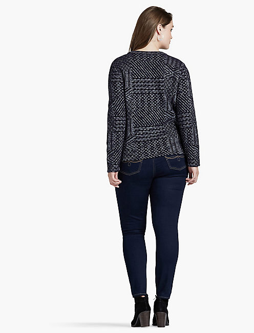 JAQUARD SWEATER,