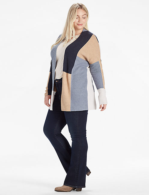 Lucky Colorblock Cardigan