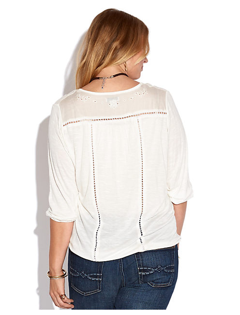 CAILEY CUTOUT TOP,