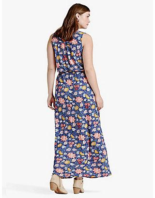 LUCKY BATIK FLORAL DRESS