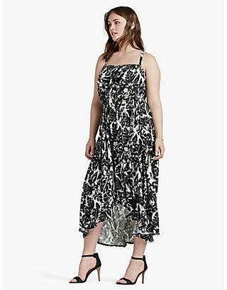 LUCKY TROPICAL NIGHT DRESS