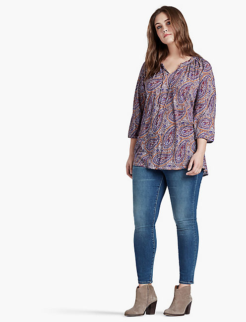 PAISLEY PRINTED TOP,