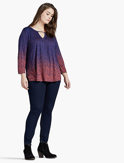 GRADIANT PRINTED TOP,